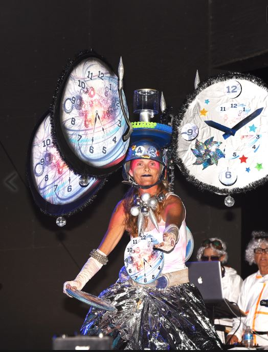time machine headdress ball