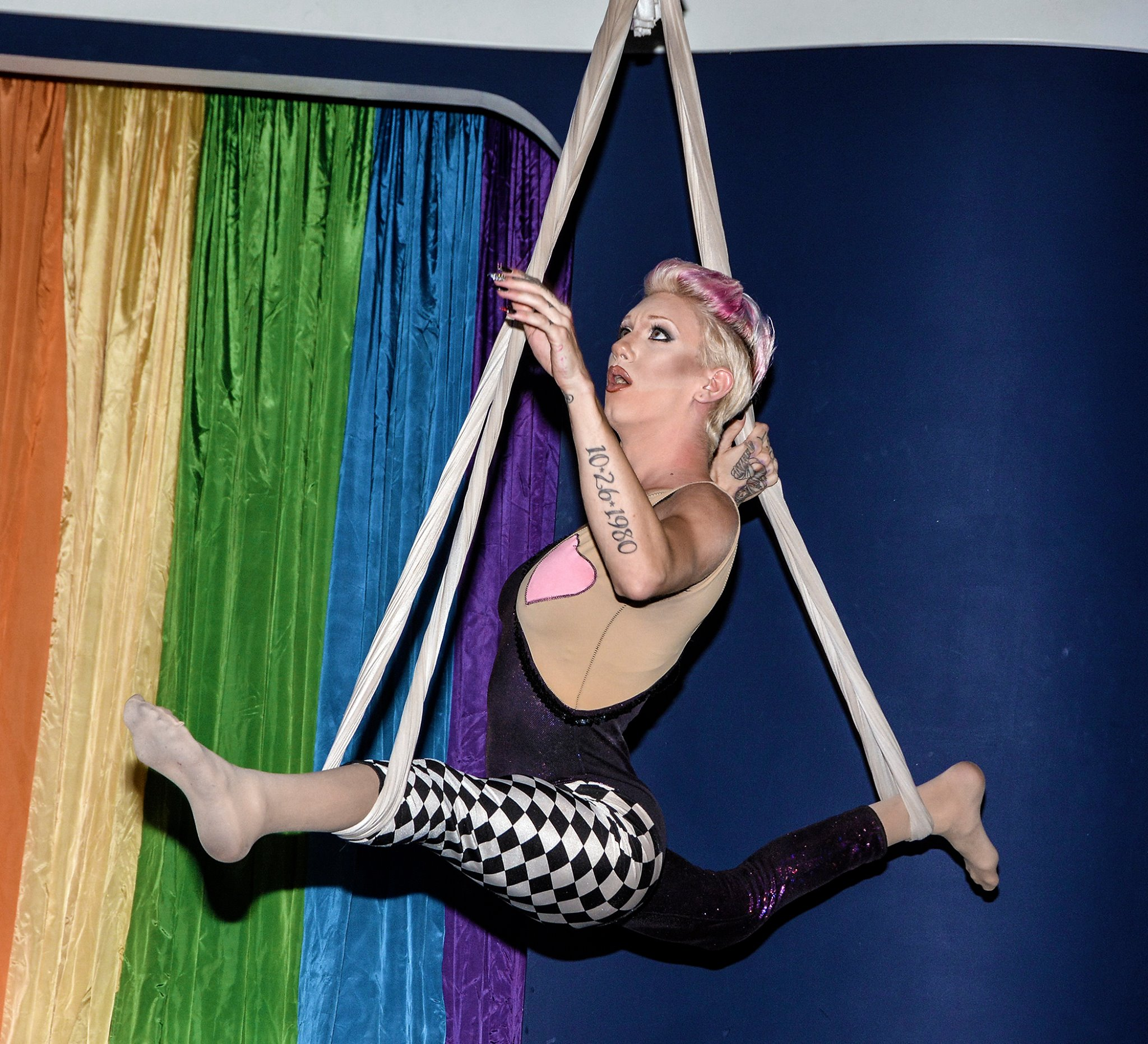 an act during pride fest